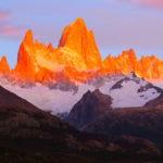 [奇跡の朝焼け]パタゴニアロゴのモチーフになったフィッツロイ山の魅力に迫る!