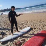[初体験]シドニー マンリービーチでサーフィンデビュー!!! in オーストラリア