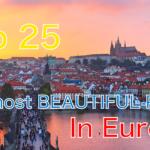 [ヨーロッパ] 絶対に旅行するべき おすすめ観光地25選