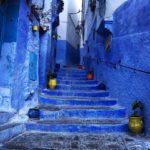 メディア(旧市街)の中はまるで迷路, 猫と青い街シャウエン, モロッコ!!!