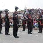 印パ フラッグセレモニー ワガ国境 パキスタン側